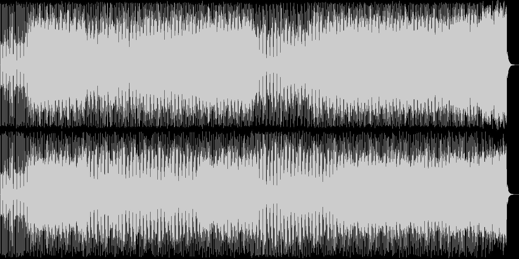 落ち着きのあるポップ調のギターサウンドの未再生の波形