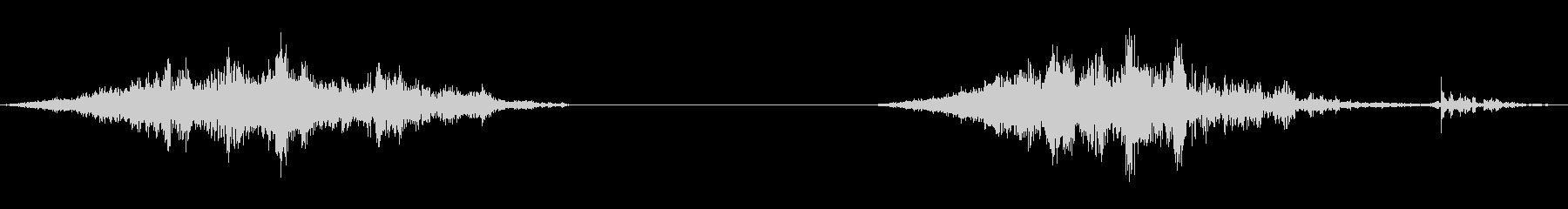 襖の開閉1(速度普通)の未再生の波形