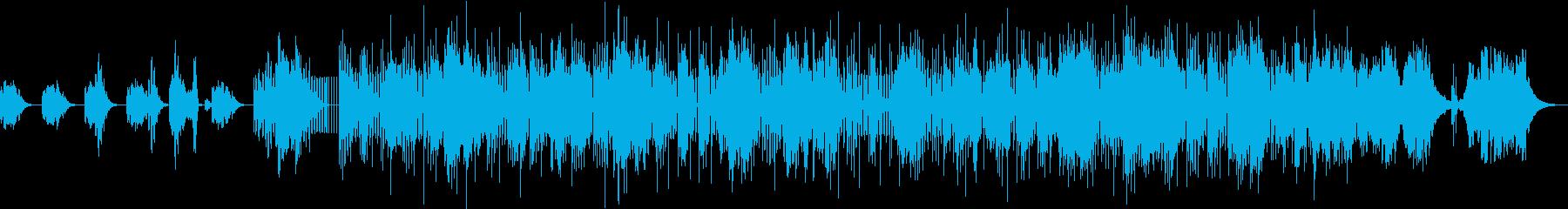 近未来的なSFをイメージしたエレクトロの再生済みの波形