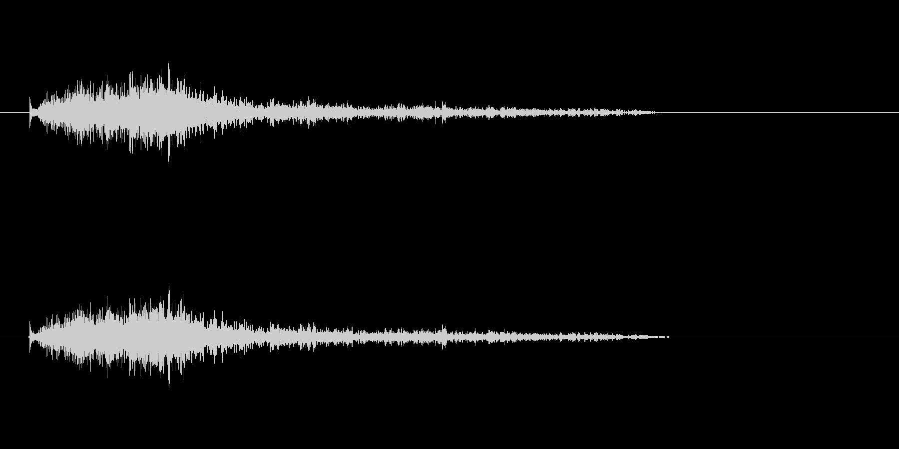 【モンスター01-8】の未再生の波形