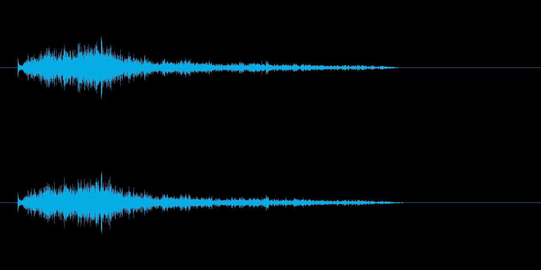【モンスター01-8】の再生済みの波形