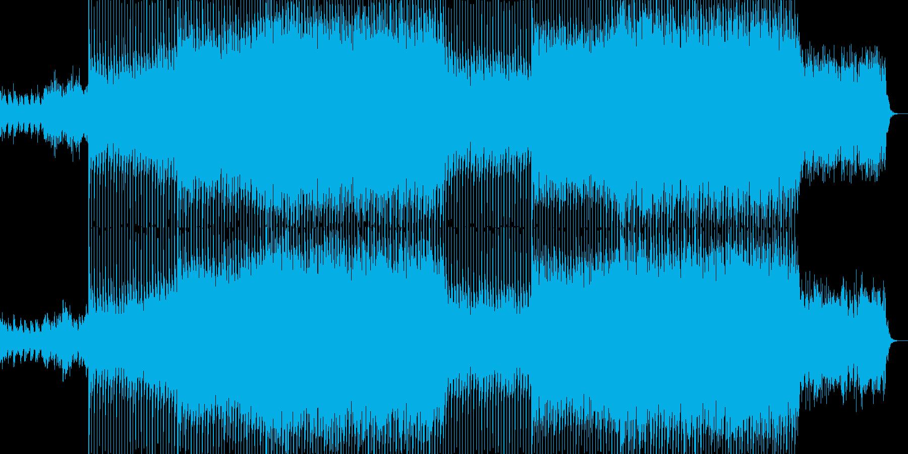 EDMポップで明るいクラブ系-44の再生済みの波形