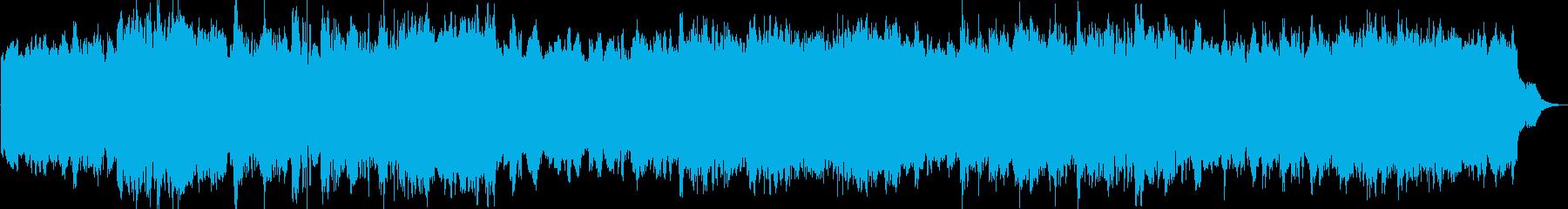 開幕や、イヴェント開催のファンファーレの再生済みの波形