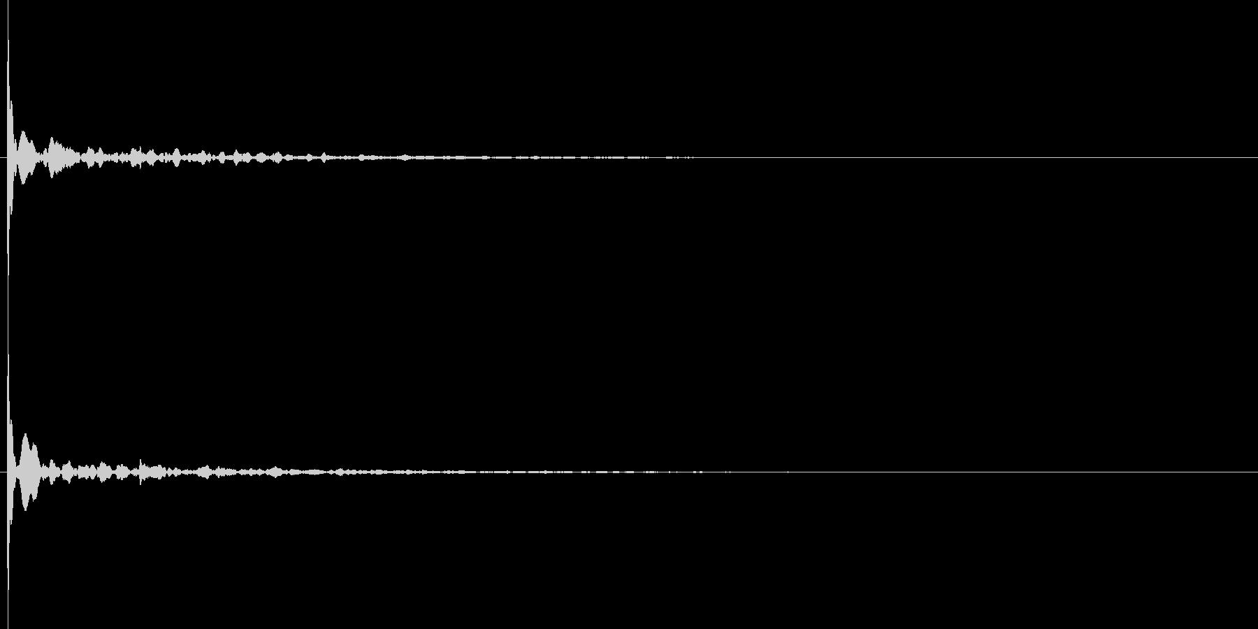 ソナーのような短信音4高音質の未再生の波形