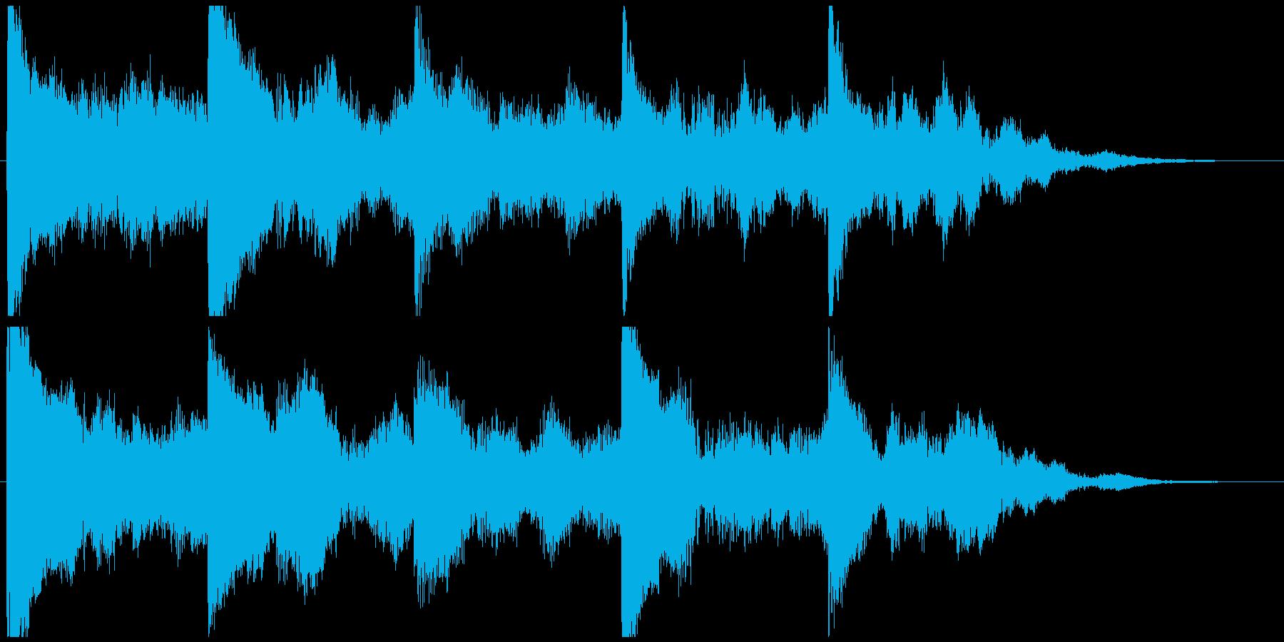 5秒CM用、セール、イベント告知verAの再生済みの波形