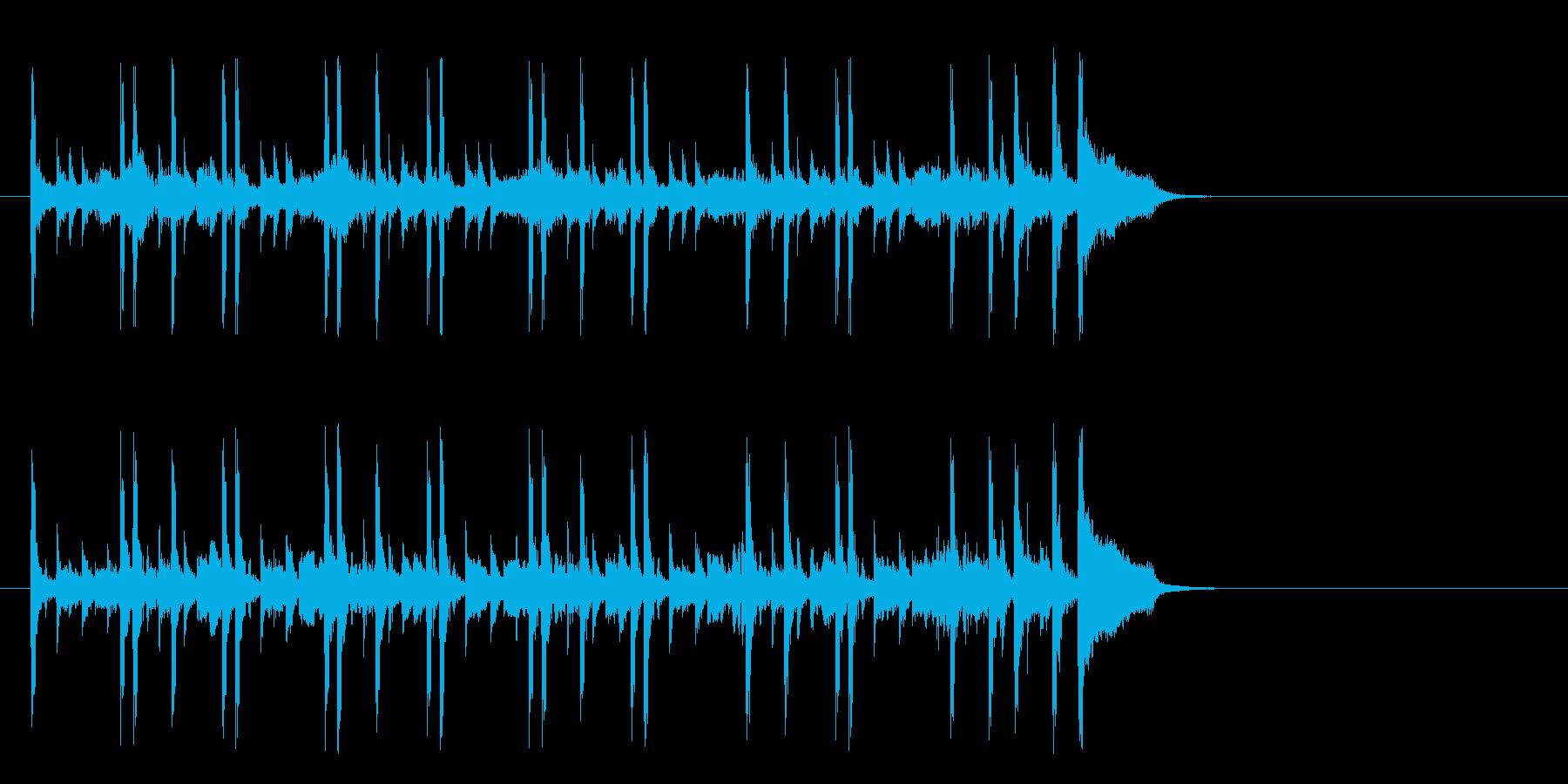 化学実験を観察するポップ(イントロ)の再生済みの波形