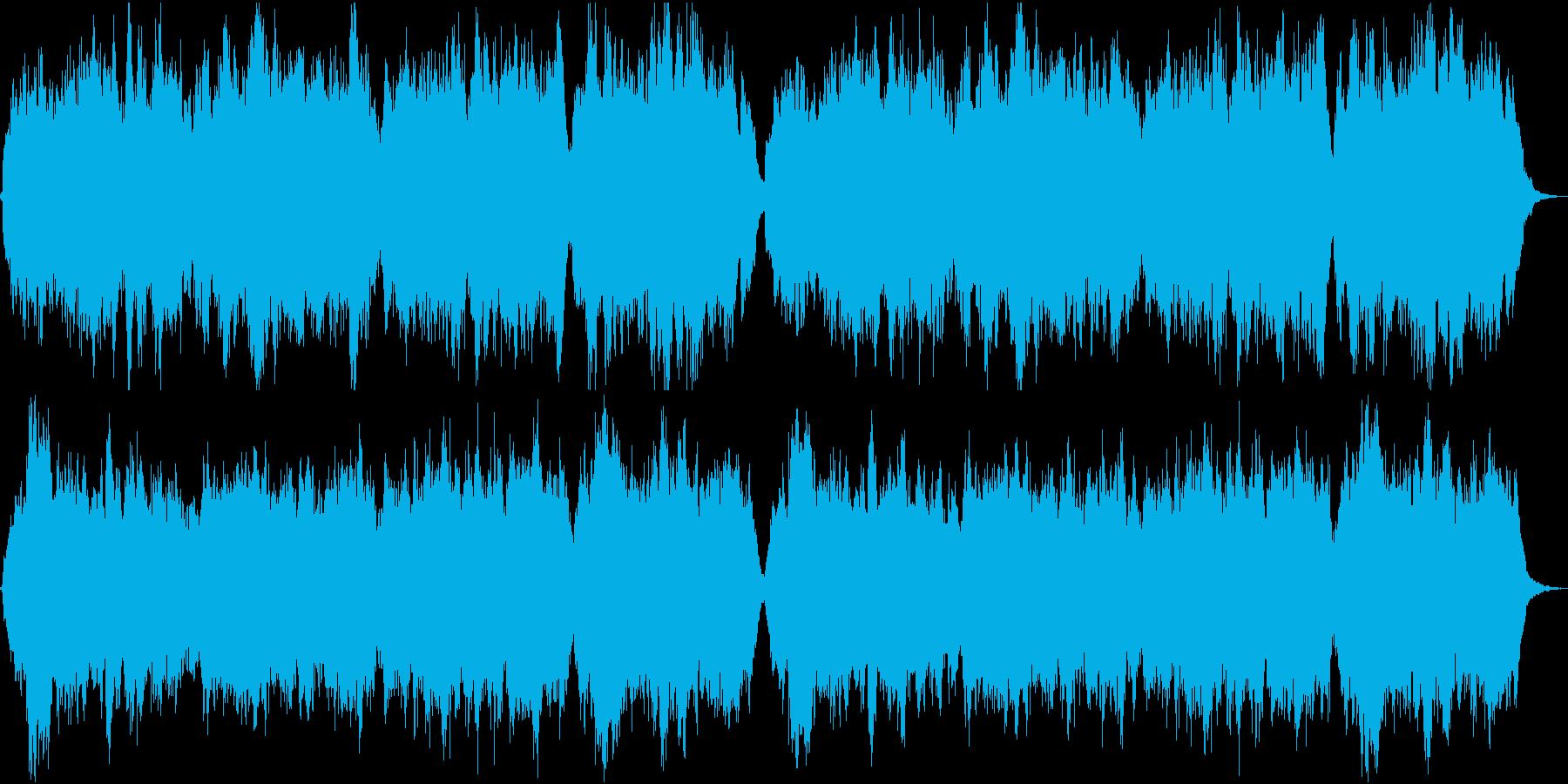 優しく懐かしい唱歌「故郷」弦楽合奏の再生済みの波形