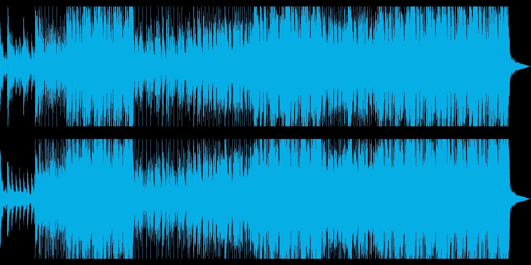雨がテーマの切ないエレクトリックポップの再生済みの波形