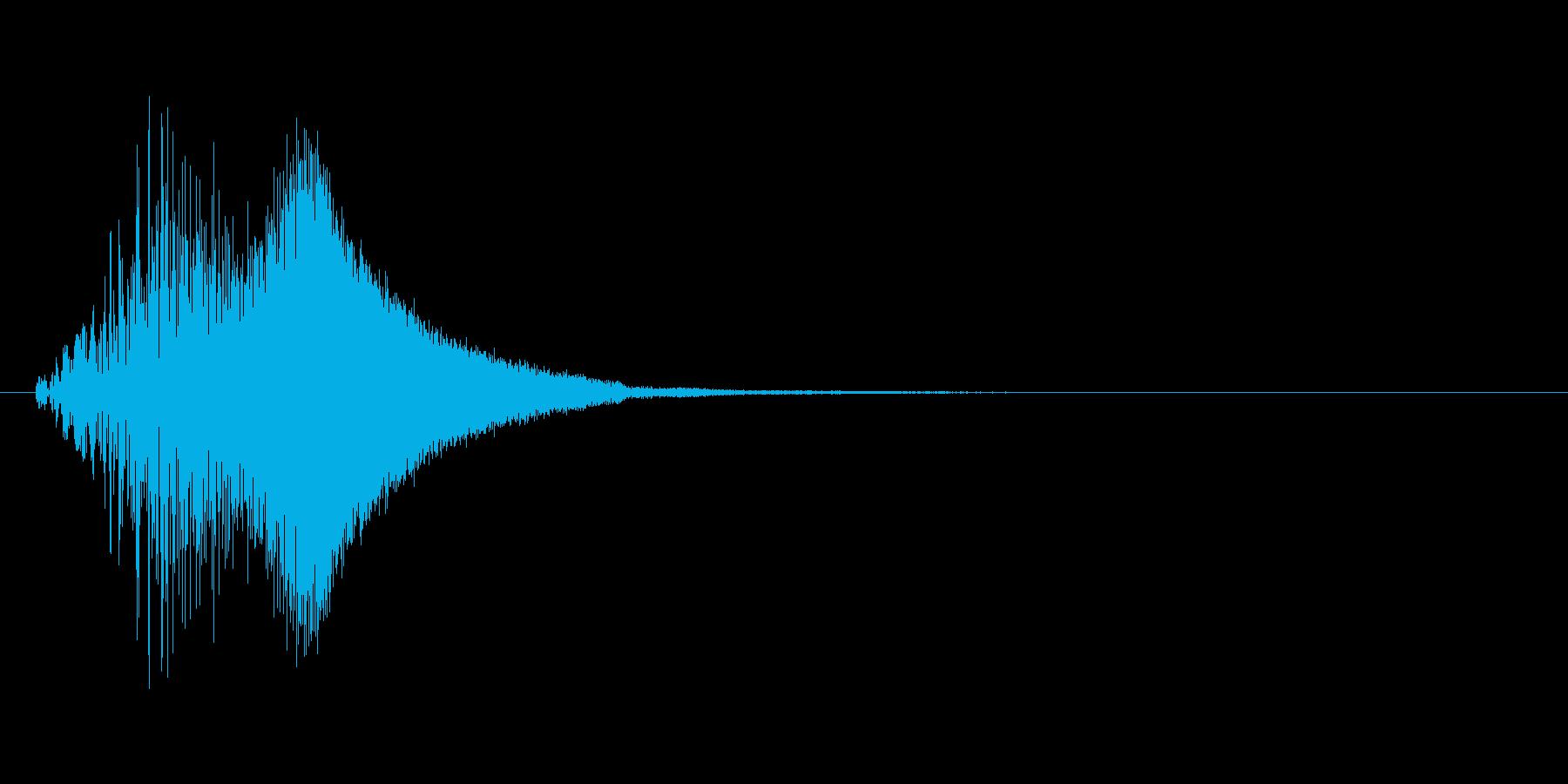 ブイーン(ワープ、時空魔法、瞬間移動)の再生済みの波形