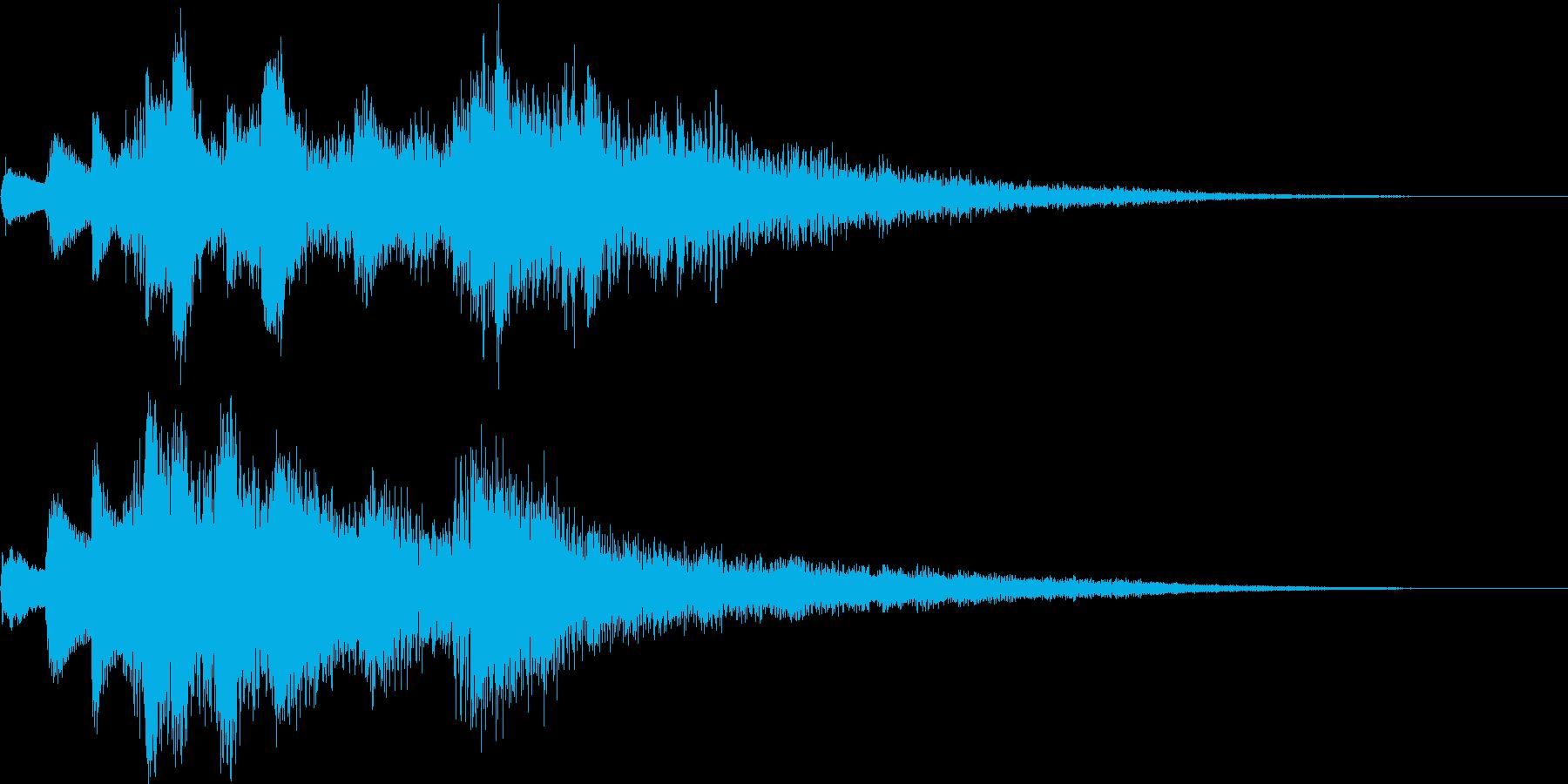 アイキャッチ用ジングル2 - ピアノ+αの再生済みの波形