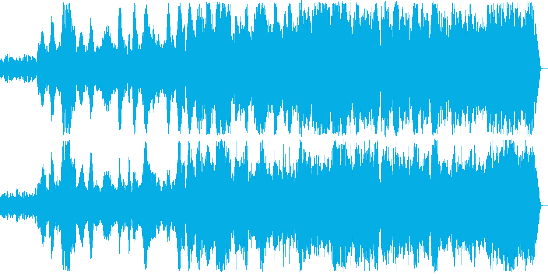 ハープシコードとバイオリンで始まる幻想曲の再生済みの波形