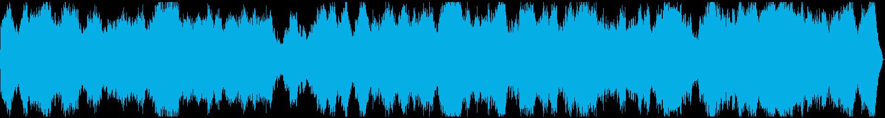 謎めいたシーン用の★アンビエントの再生済みの波形