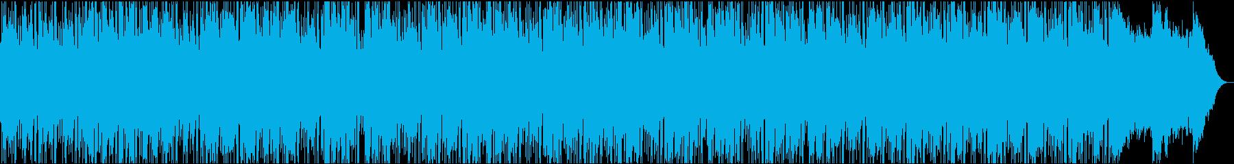 UKロック風インストの再生済みの波形