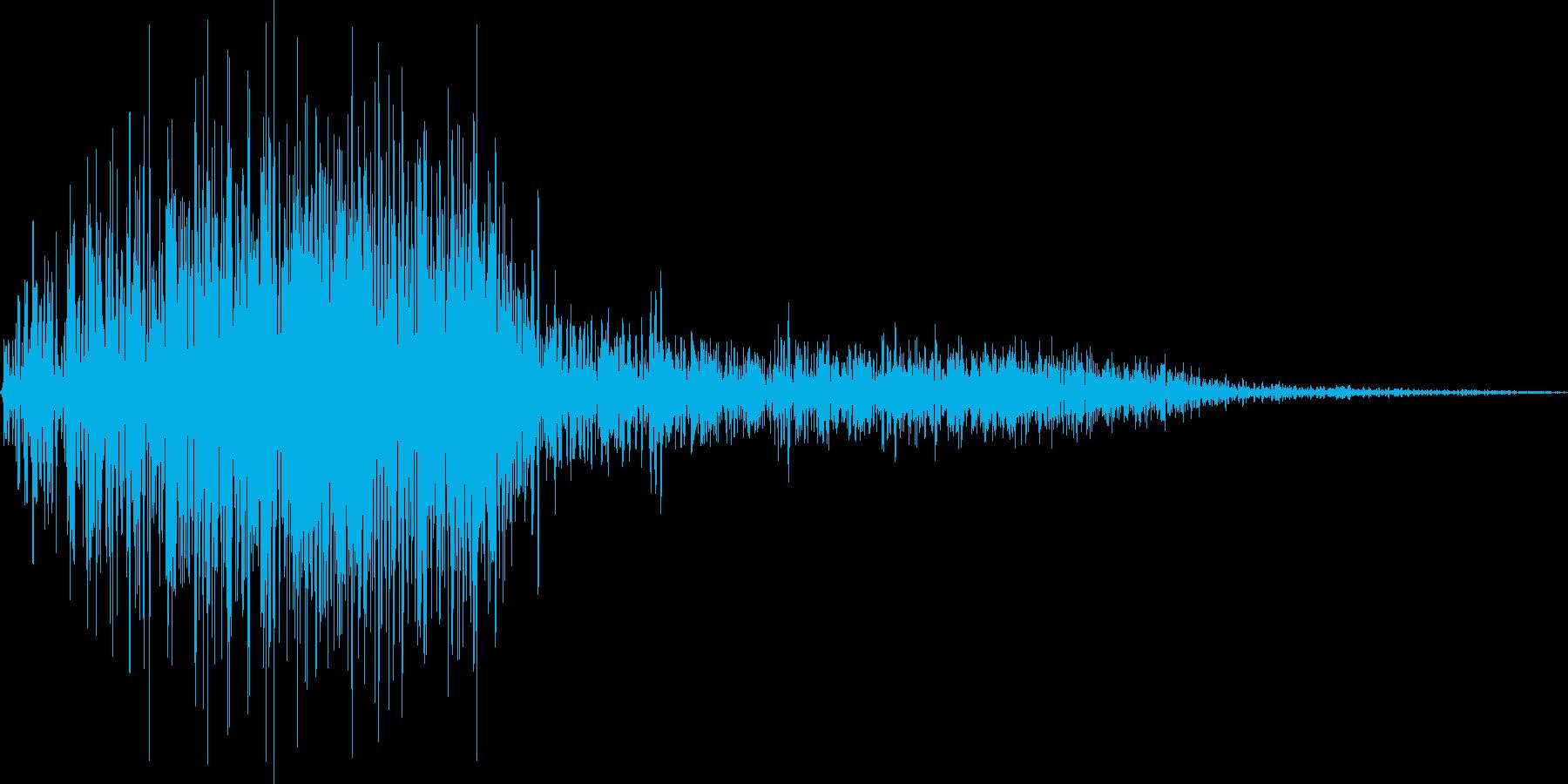 ブオン(ワープ 高速移動 素振り)の再生済みの波形