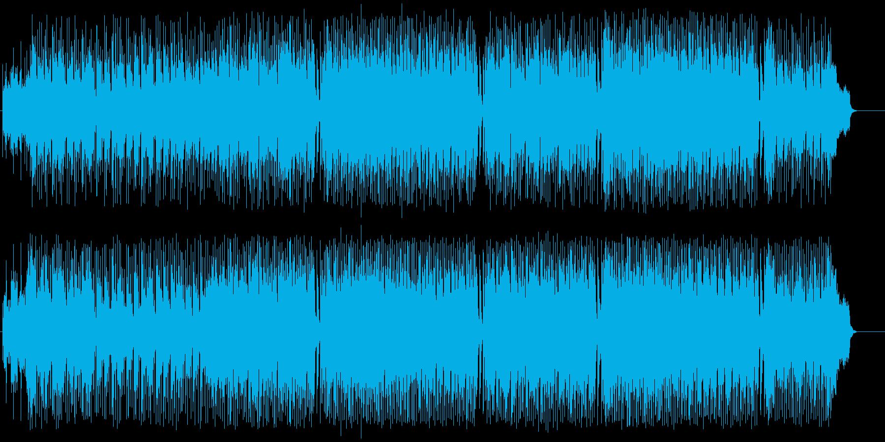 青空と優しさの似合うポップス風レゲエの再生済みの波形