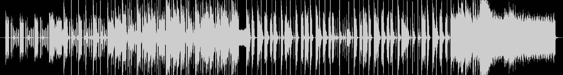 軽快でポップなジングルの未再生の波形