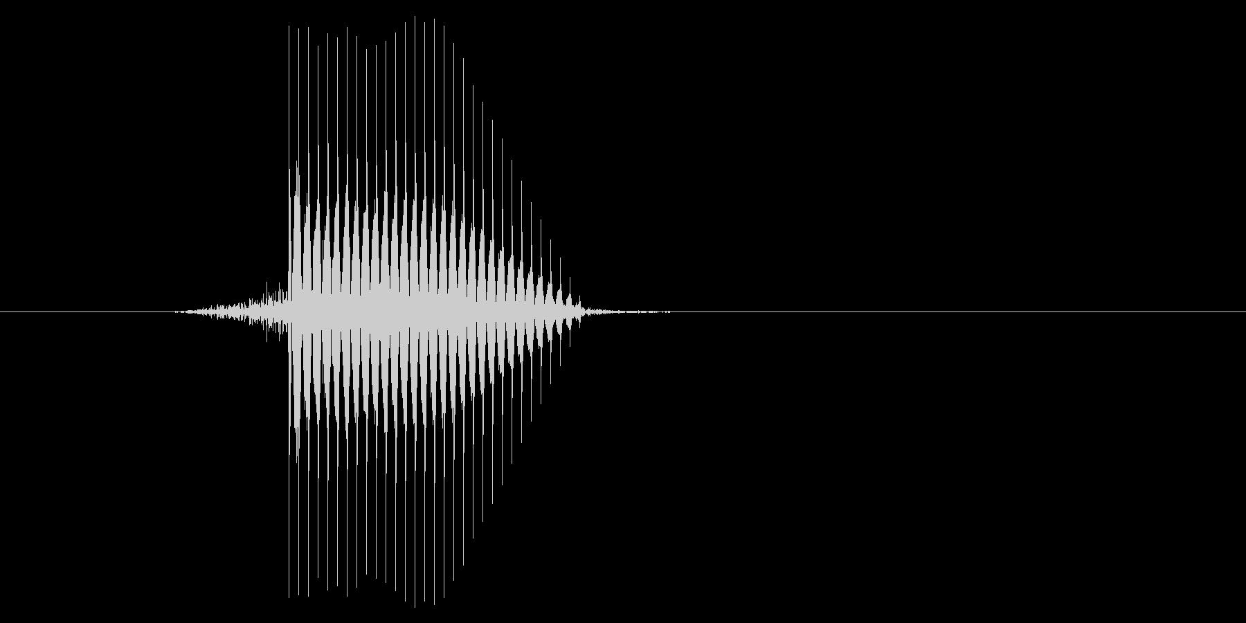 ゲーム(ファミコン風)セレクト音_028の未再生の波形