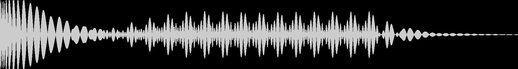 EDMキック キーD#の未再生の波形