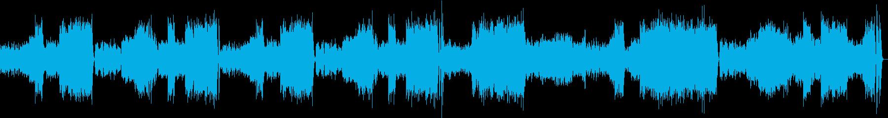 交響曲第40番ト短調 K.550よりの再生済みの波形