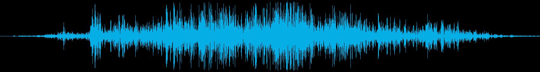 ガー。引き出しを開ける音です。の再生済みの波形