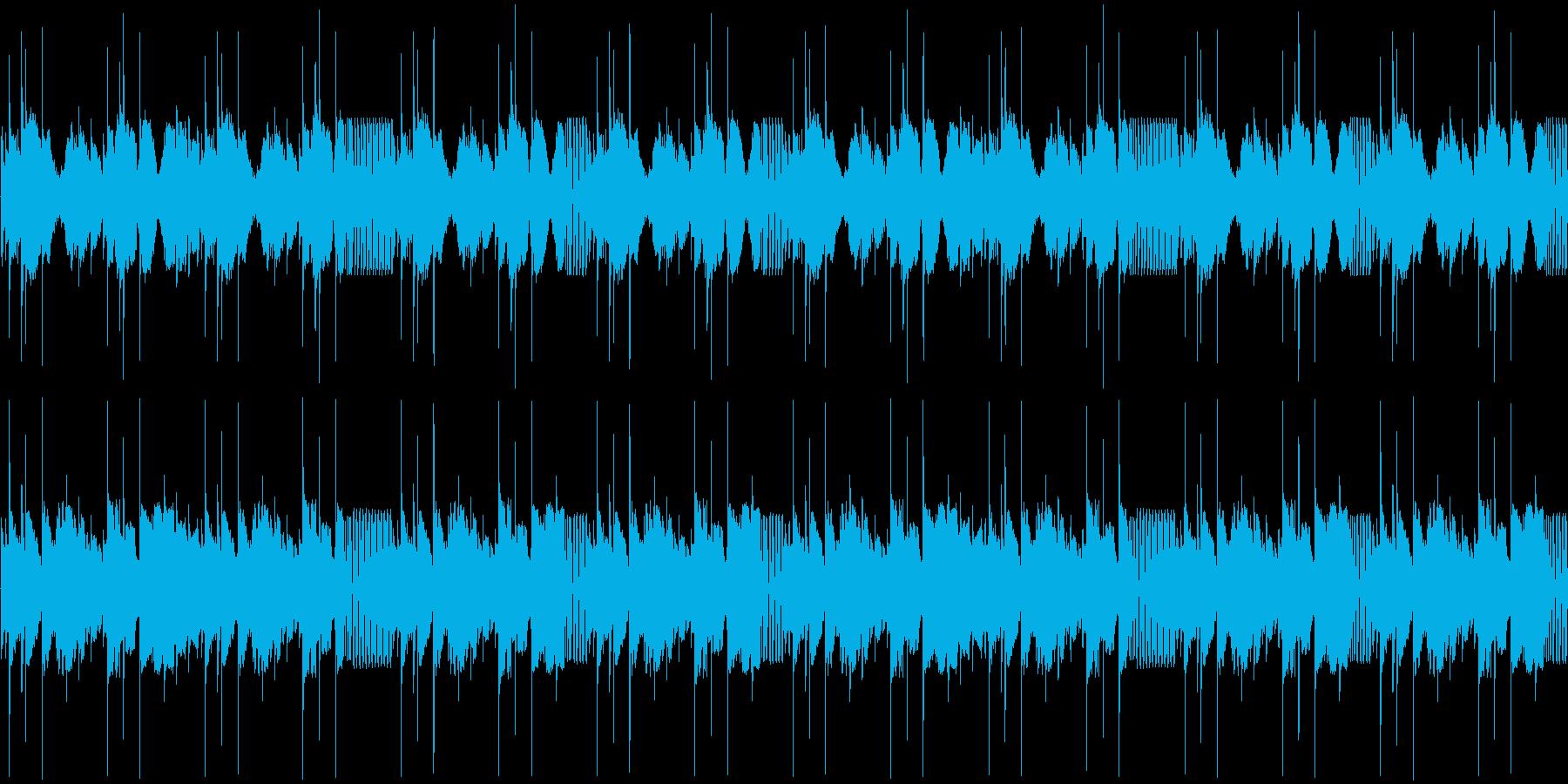 【和風/オリエンタル/エレクトロニカ】の再生済みの波形