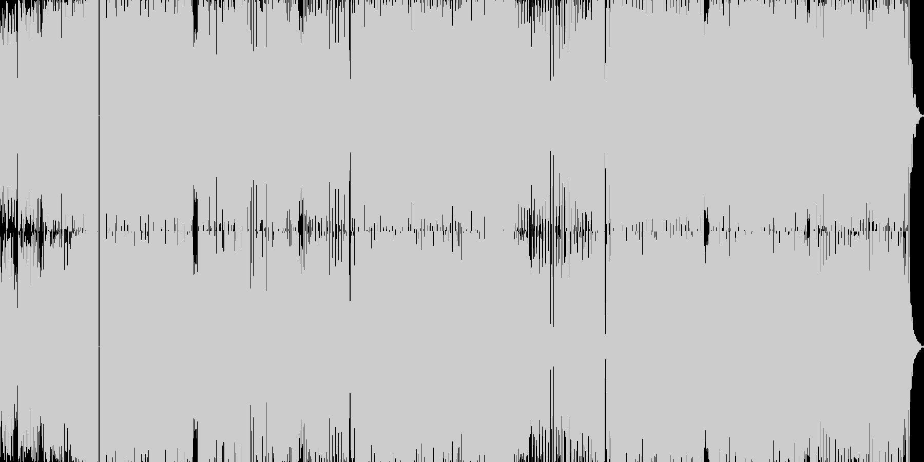 coolでカッコいいをテーマに作ったT…の未再生の波形