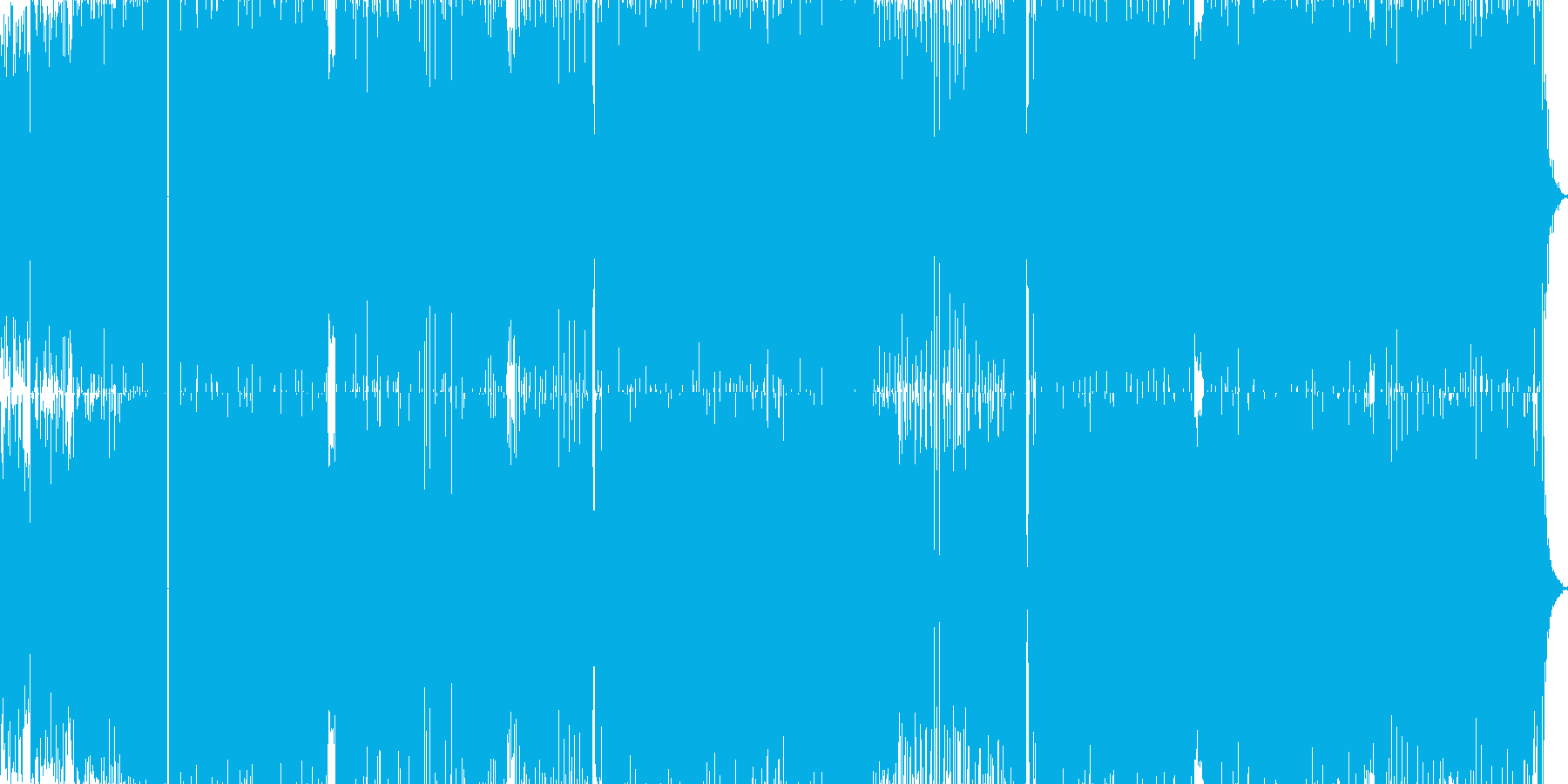 coolでカッコいいをテーマに作ったT…の再生済みの波形