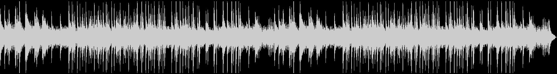 ゆったり落ち着いたムードのソロ・ピアノ曲の未再生の波形