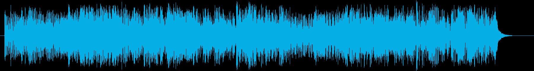 バッハの平均律のフーガを木管トリオでの再生済みの波形