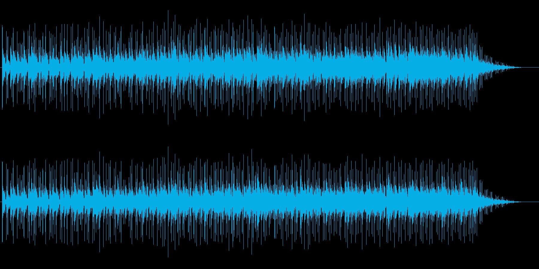 落ち着きのある大人なニューミュージックの再生済みの波形
