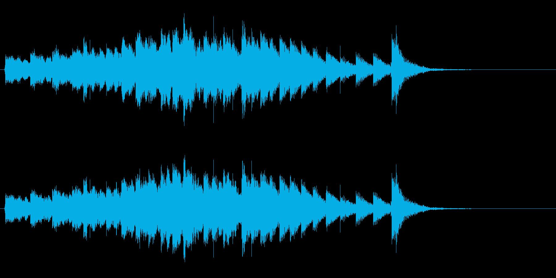 幽霊お化けがヒュードロドロの再生済みの波形