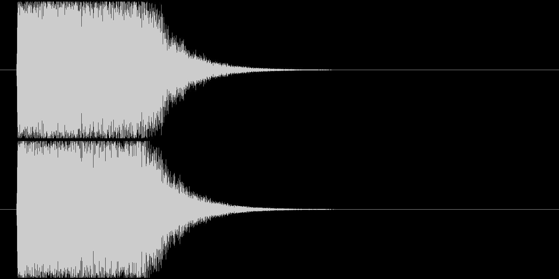 インパクト魔法発射ほかの未再生の波形