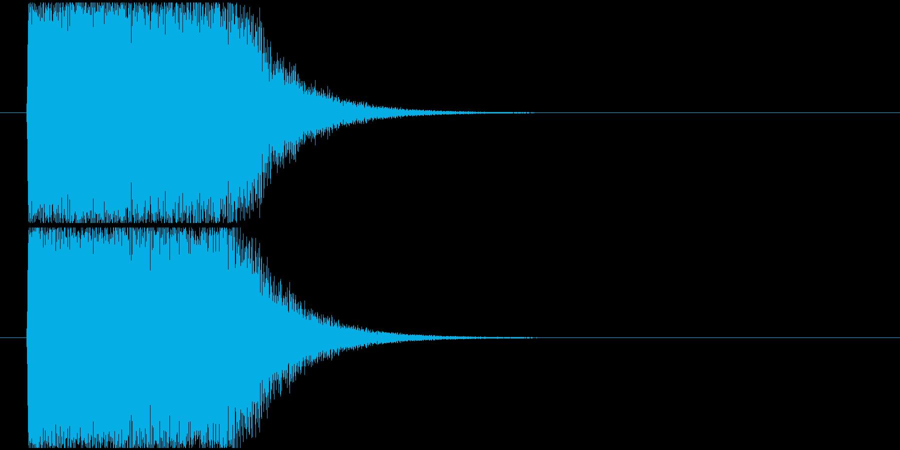インパクト魔法発射ほかの再生済みの波形