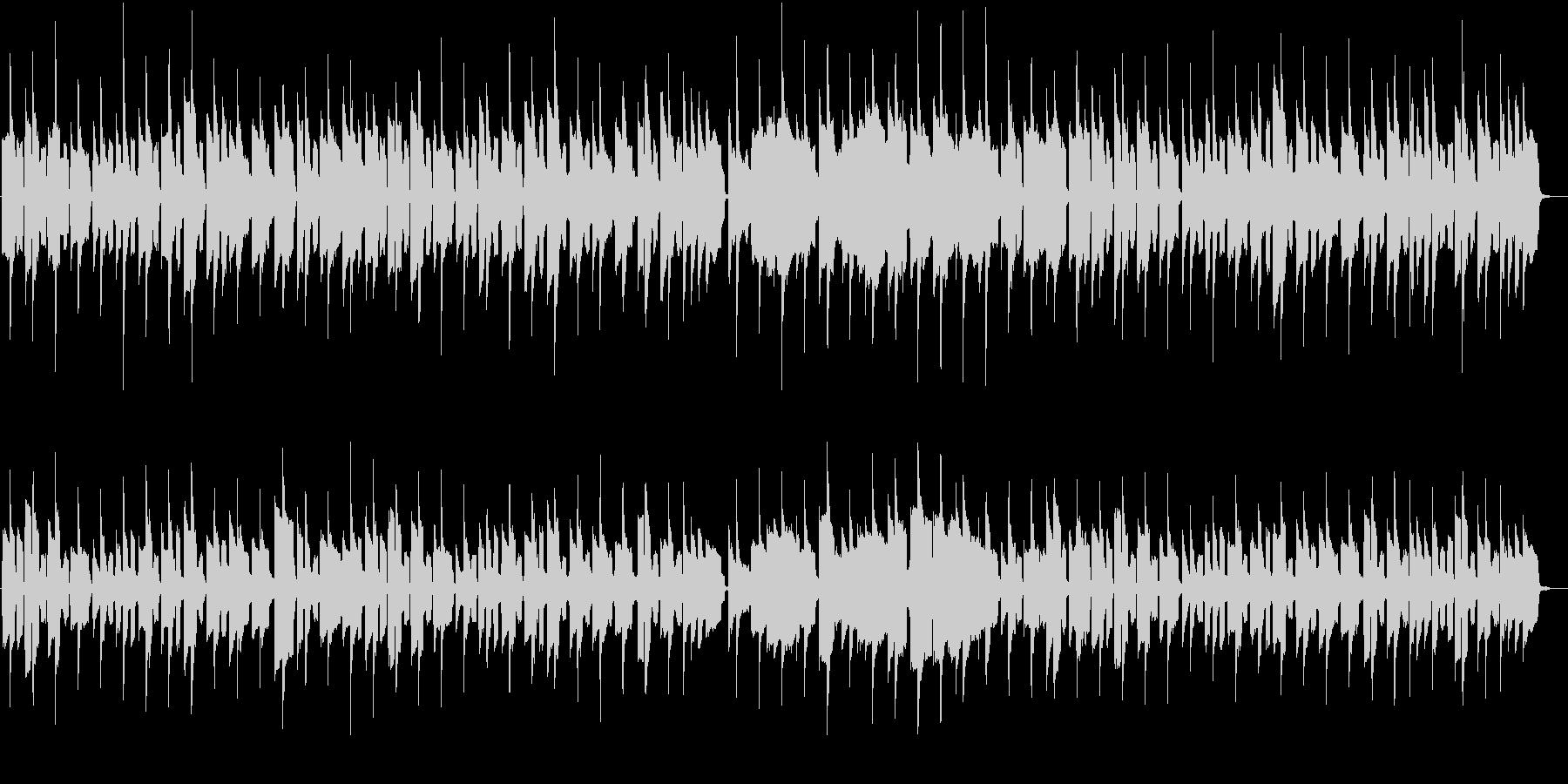 リコーダーメロディーのほのぼのワルツの未再生の波形