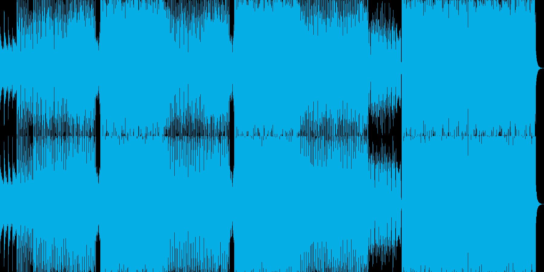 明るく優しく可愛らしいお洒落ポップ曲の再生済みの波形