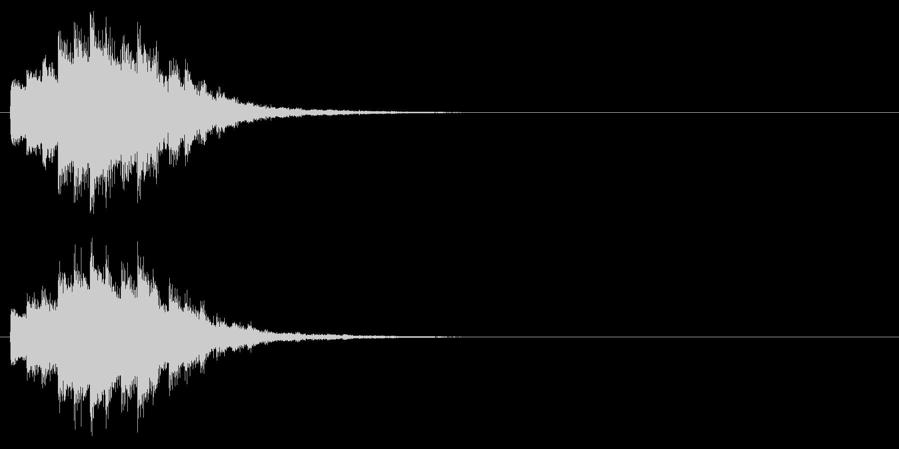 回復/ポーション/キラキラの未再生の波形
