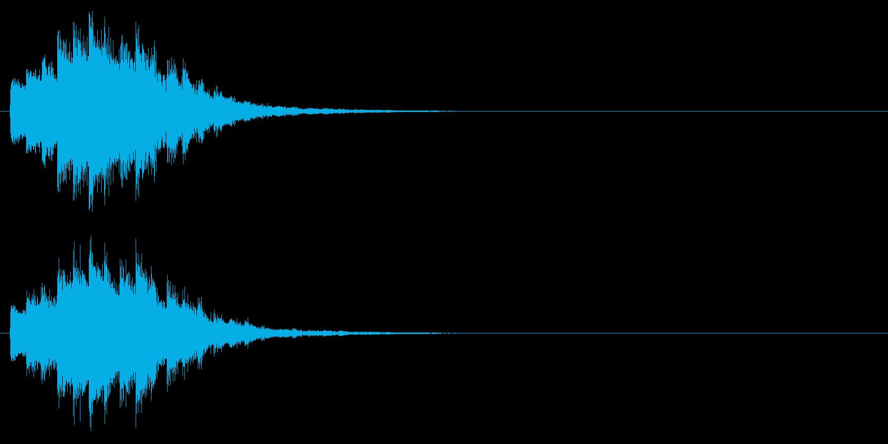 回復/ポーション/キラキラの再生済みの波形