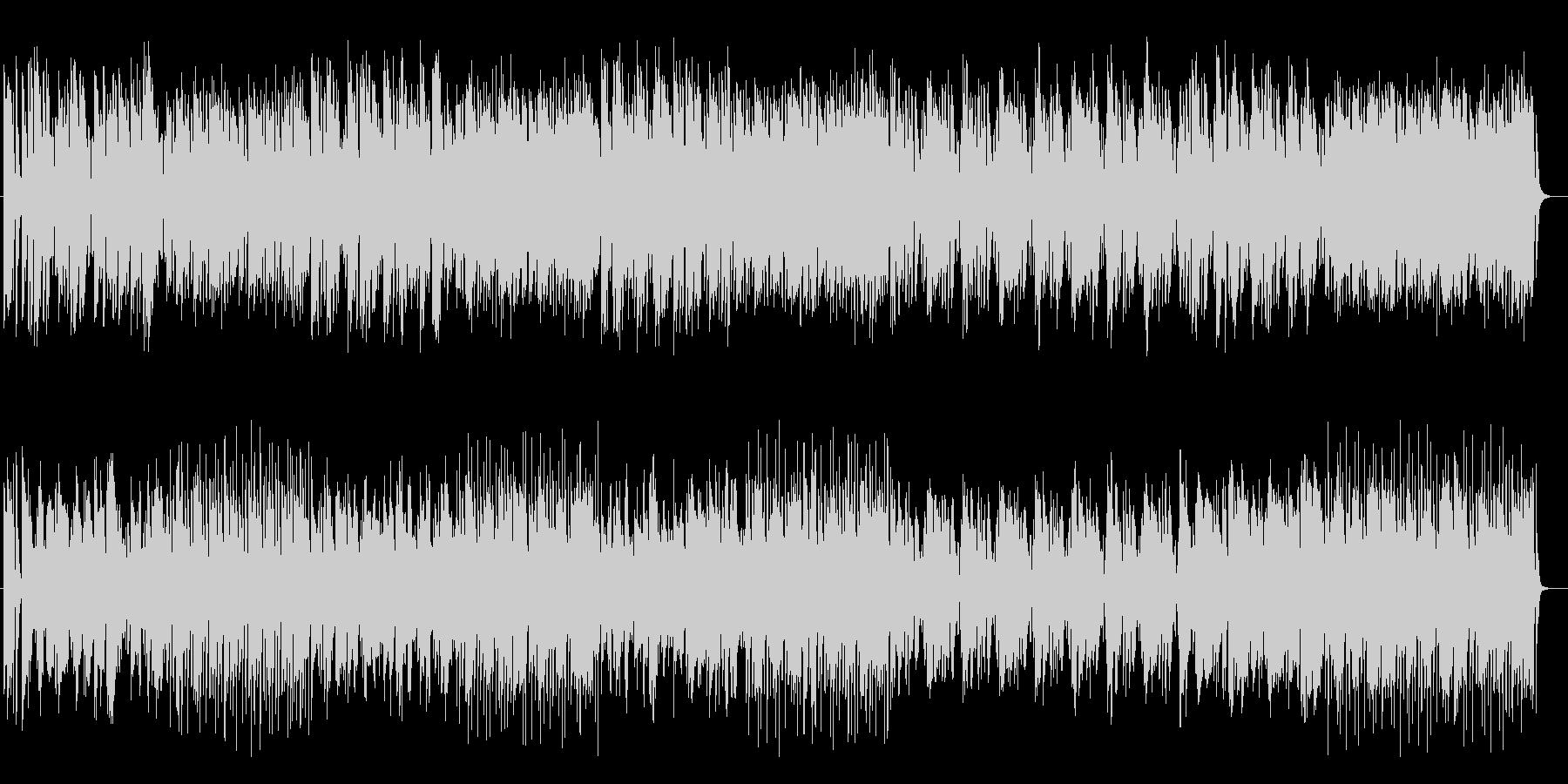 軽快でポップなファンタジック曲の未再生の波形