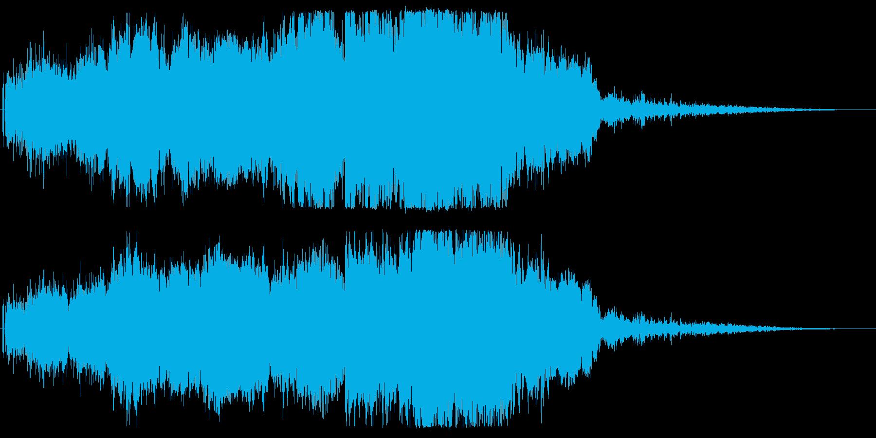 F1などのレース、エンジン音に最適14!の再生済みの波形