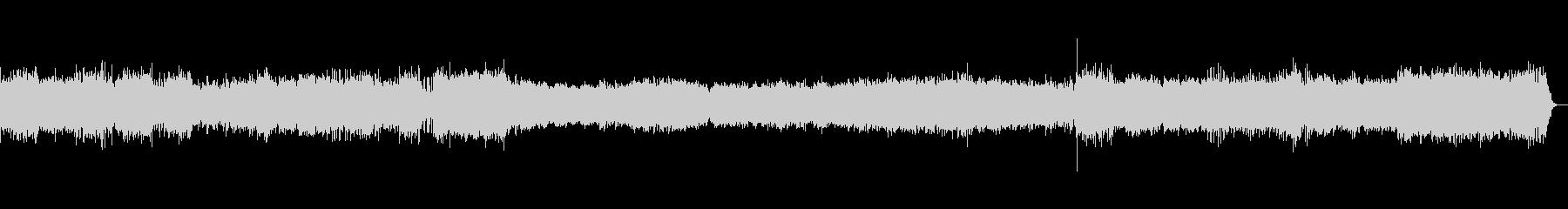ドキュメンタリーテーマ音楽の未再生の波形