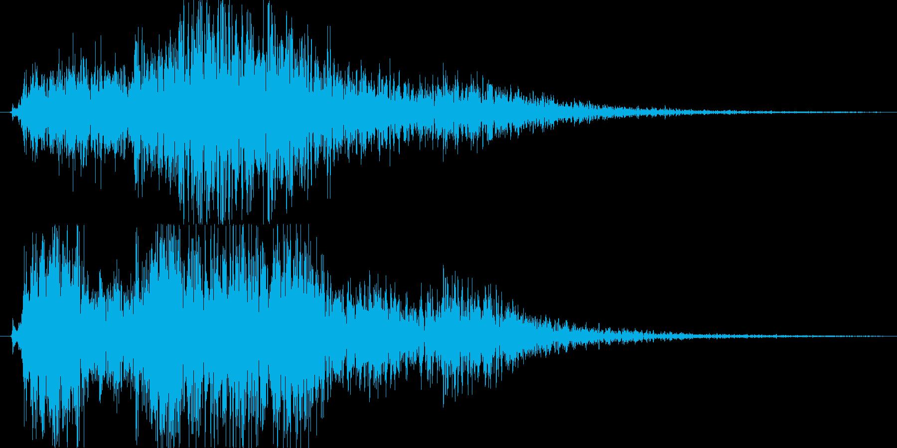 クワーオ。の再生済みの波形