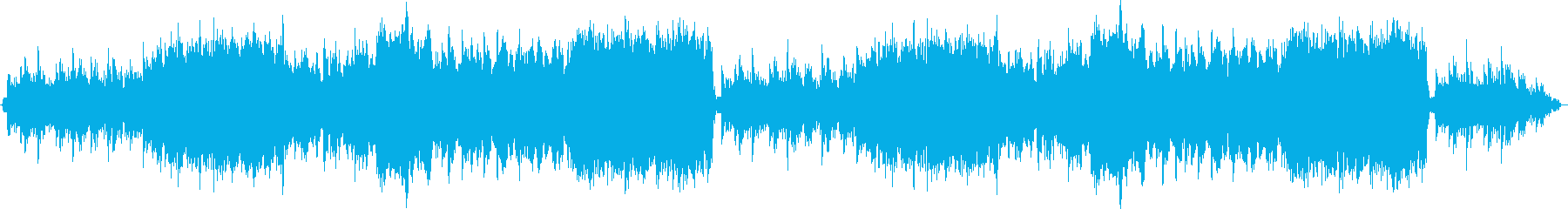 フィールドBGM_物悲しいオーケストラの再生済みの波形