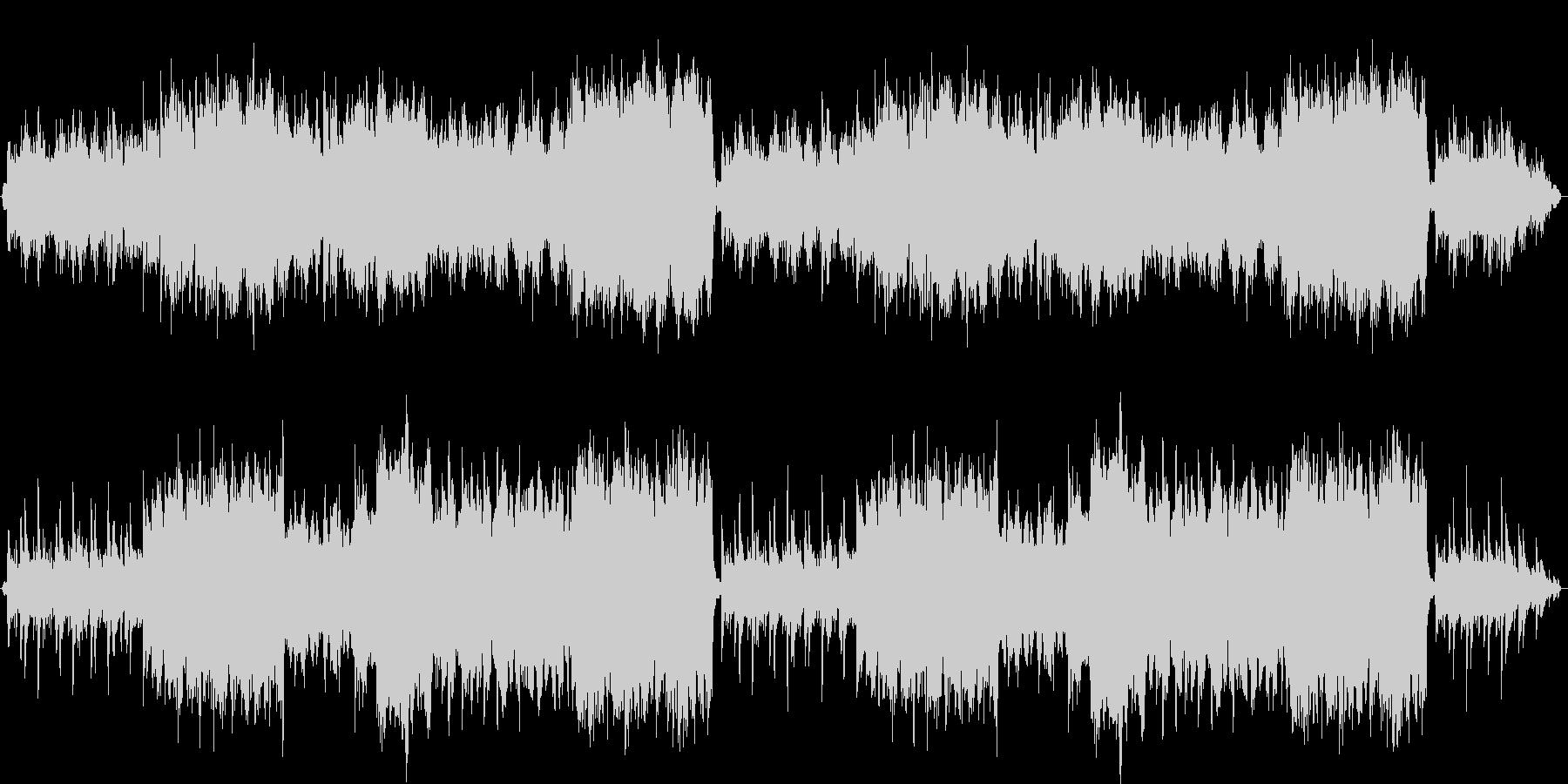 フィールドBGM_物悲しいオーケストラの未再生の波形