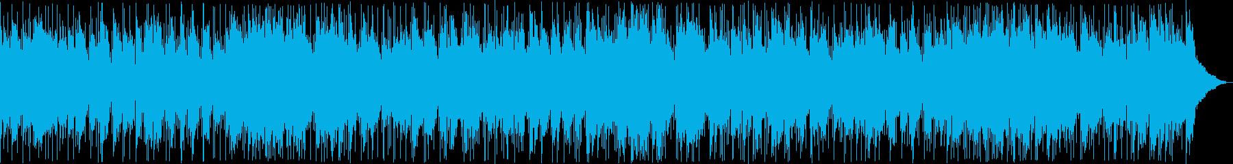 穏やかなシンセ・ギターサウンドの再生済みの波形
