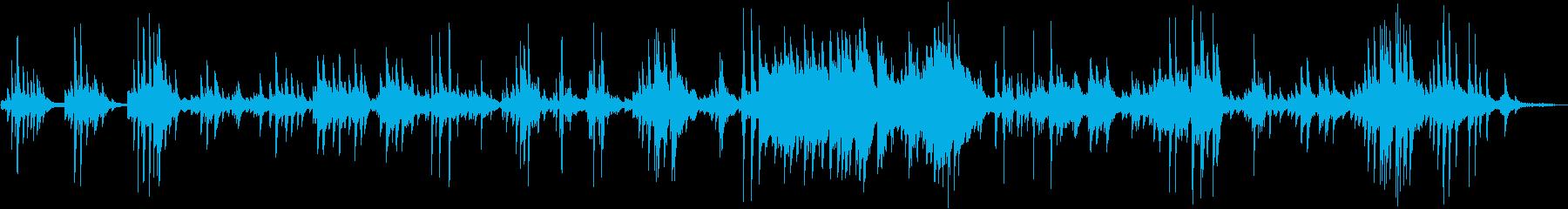 ピアノ×Pad音色の爽やかなソロ演奏曲…の再生済みの波形