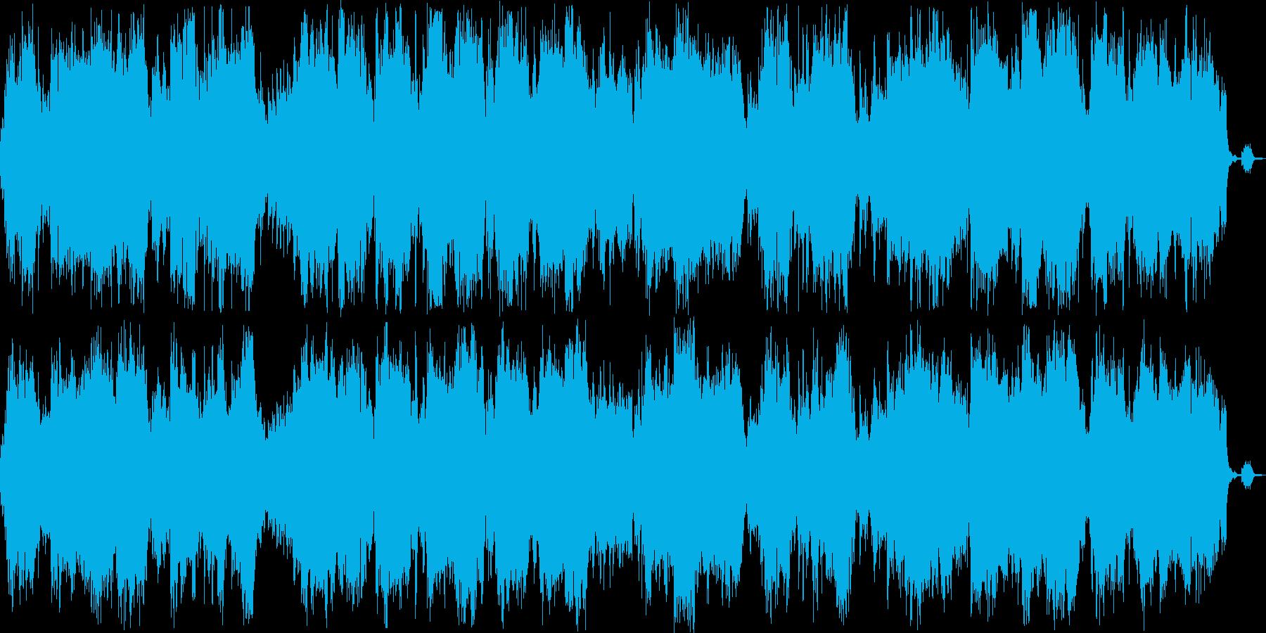 安らぎ感のある管楽器ピアノサウンドの再生済みの波形