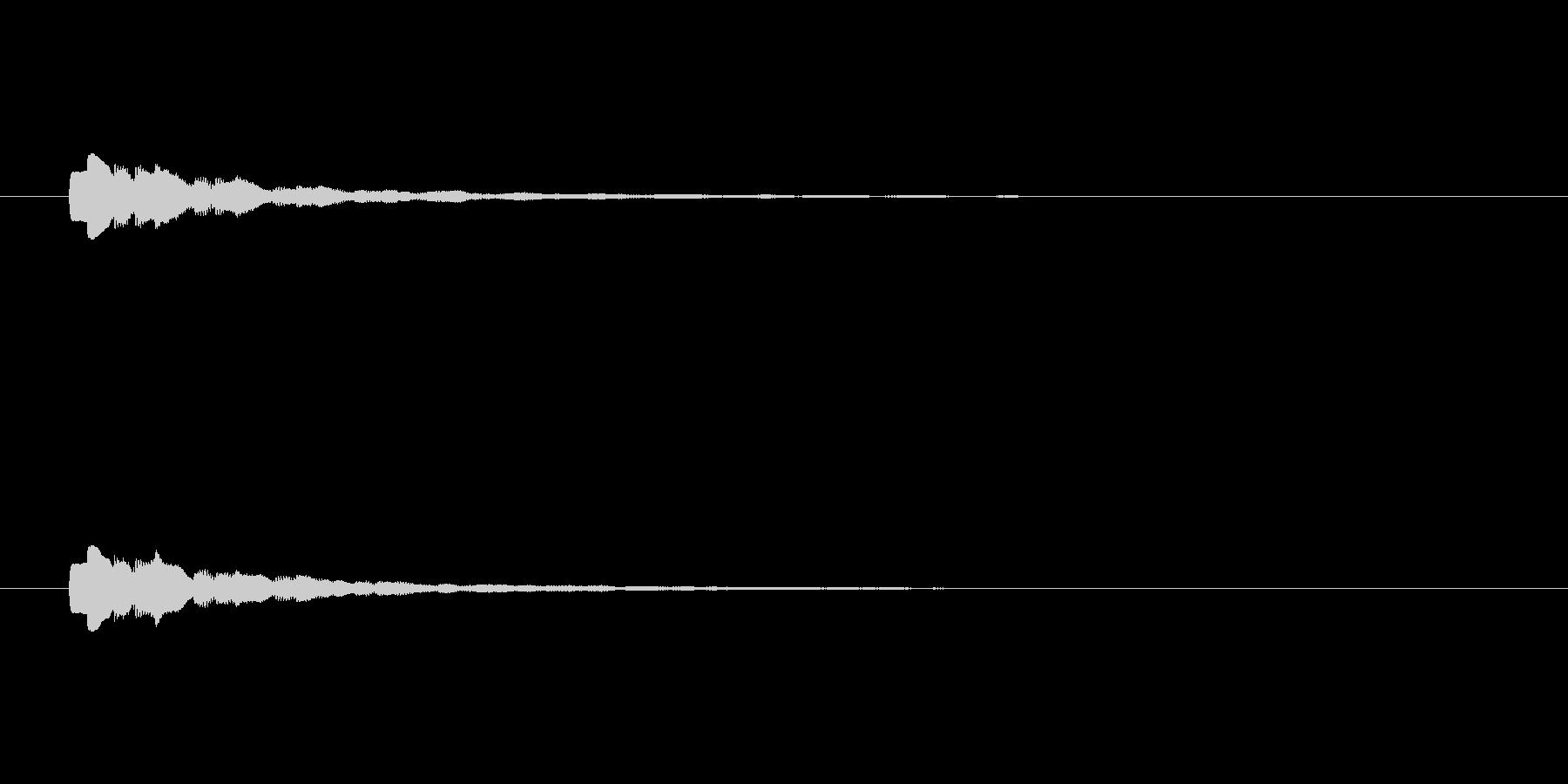 【ショートブリッジ18-1】の未再生の波形