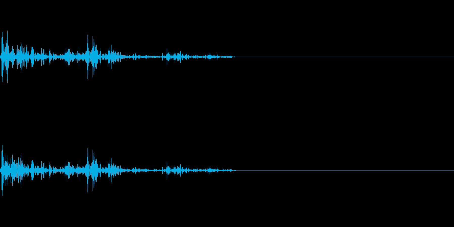 ガブッ(かみつく音)の再生済みの波形
