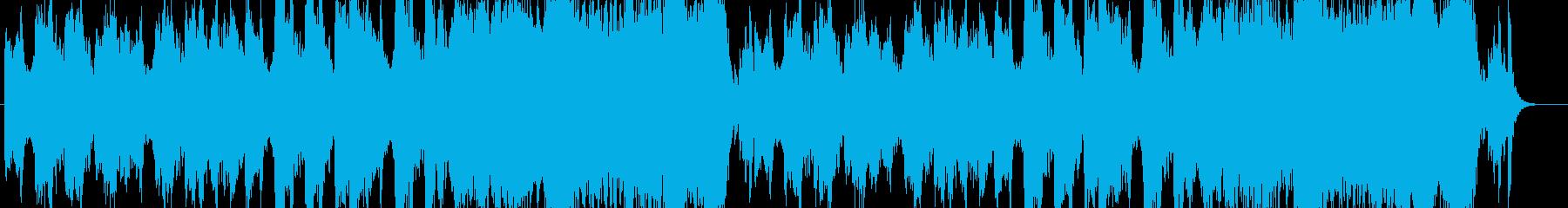 「洞窟」「舞踏会」「ハロウィン」曲B14の再生済みの波形