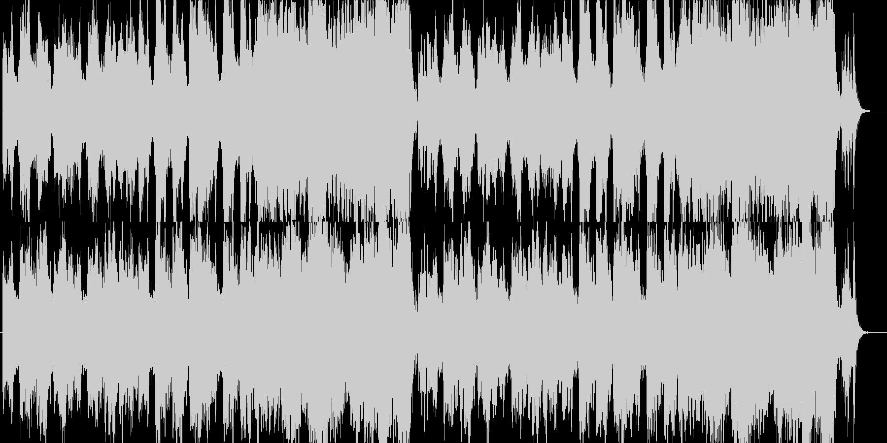「洞窟」「舞踏会」「ハロウィン」曲B14の未再生の波形
